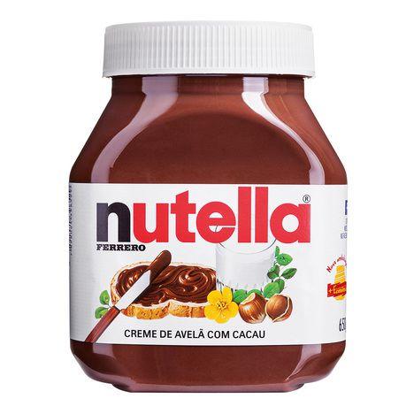 Creme De Avelã Nutella 650g Gigante - Ferrero