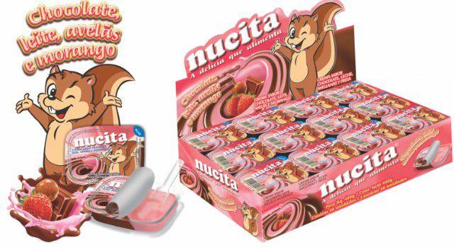 Creme Morango Chocolate 10g C/48un - Nucita