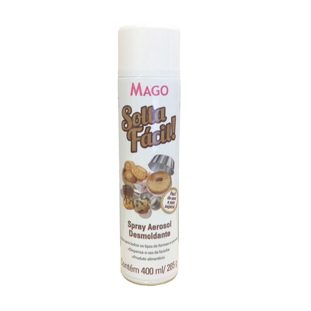 Desmoldante Spray Solta Fácil 400ml - Mago