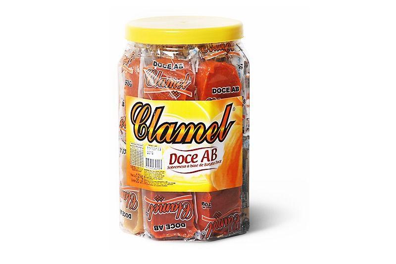 Doce de Abóbora e Batata Embalado Pote C/20 - Clamel