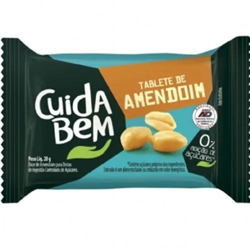 Doce De Amendoim Gibi Zero Açúcar C/24un 20g - Cuida Bem