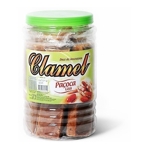 Doce Paçoca Lisa - Clamel C/20un