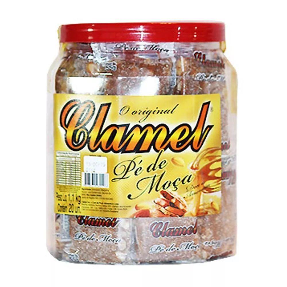 Doce Pé De Moça Embalado Pote C/20un - Clamel