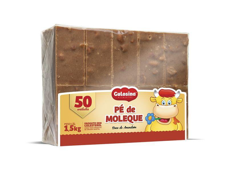 Doce Pé De Moleque C/50 - Gulosina