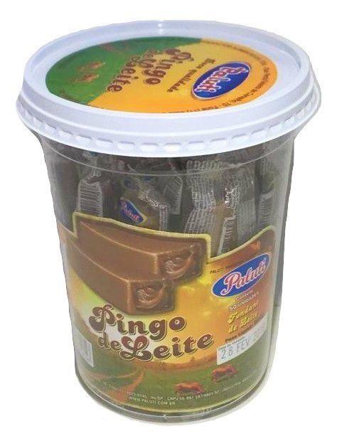Doce Pingo De Leite Embalado Pote C/50 - Paluti