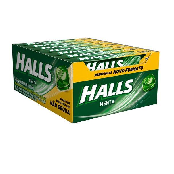 Drops Halls Menta 28gr C/21 - Adams