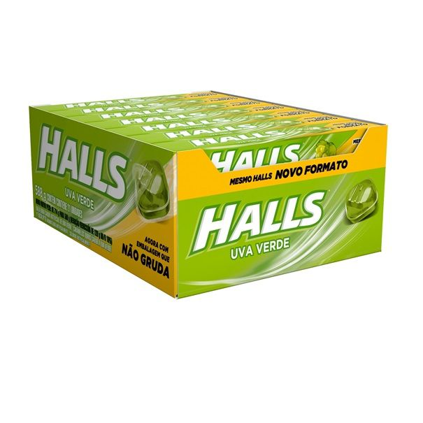 Drops Halls Uva Verde 28gr C/21 - Adams