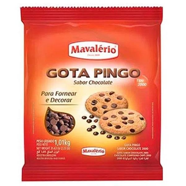 Gota Pingo Sabor Chocolate Tipo 2000 1,01kg - Mavalério