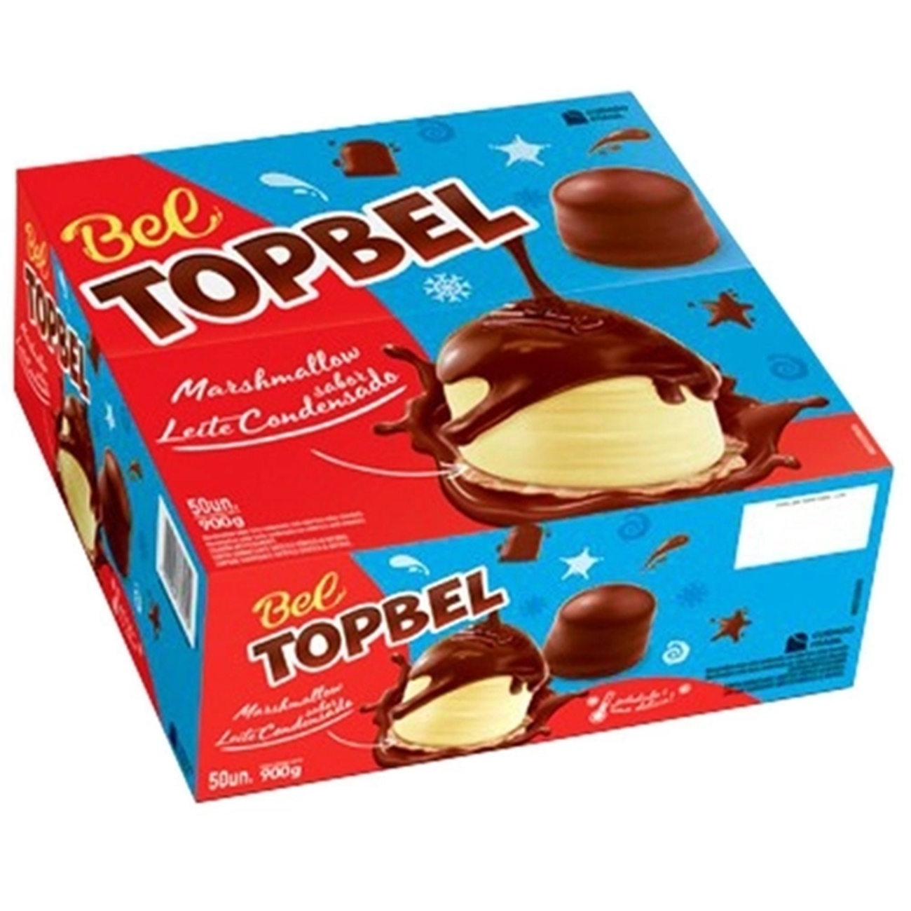 Marshmallow Chocolate Top Bels Leite Condensado c/50 - Bel