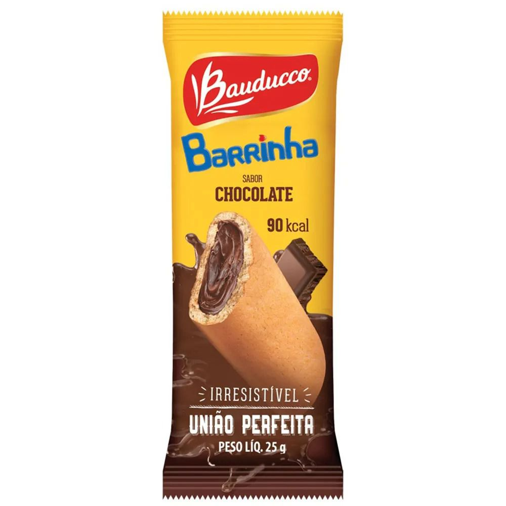 Maxi Chocolate 25gr C/20un - Bauducco