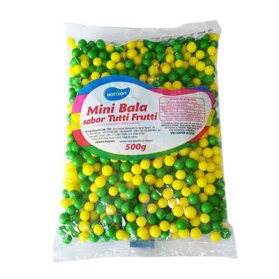 Mini Bala Confeito Horizon Verde/Amarela - 500gr