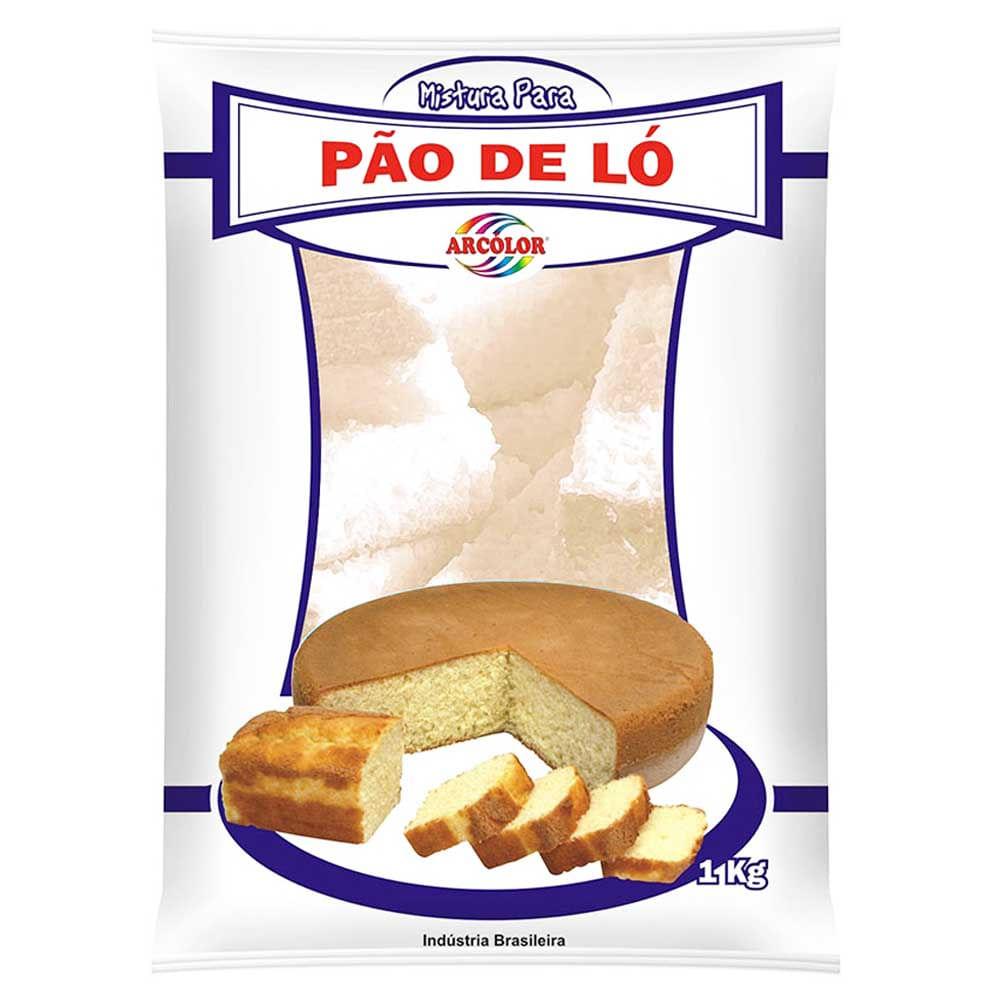 Mistura Para Pão De Ló 1kg - Arcolor