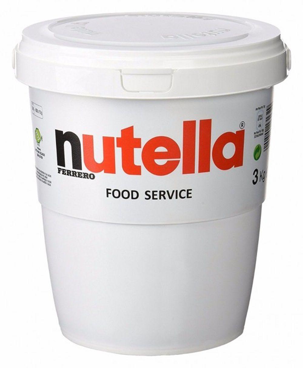 Nutella 3kg Balde Gigante Creme De Avelã Ferrero
