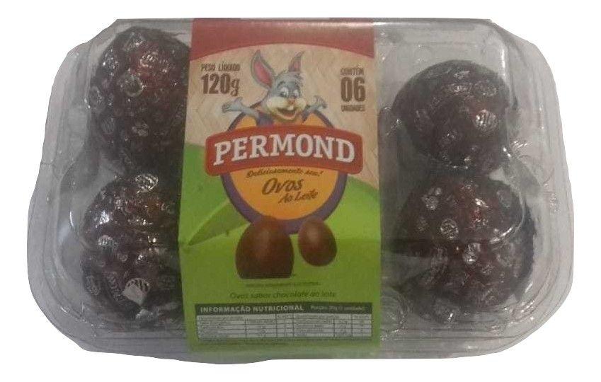 Ovo de Chocolate C/6 un - Permond