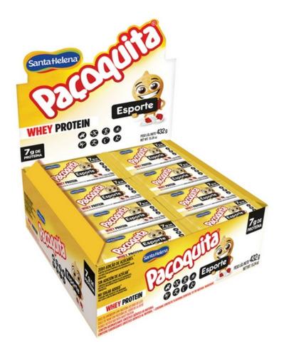 Paçoquita Esporte Whey Protein Display 24un - Santa Helena