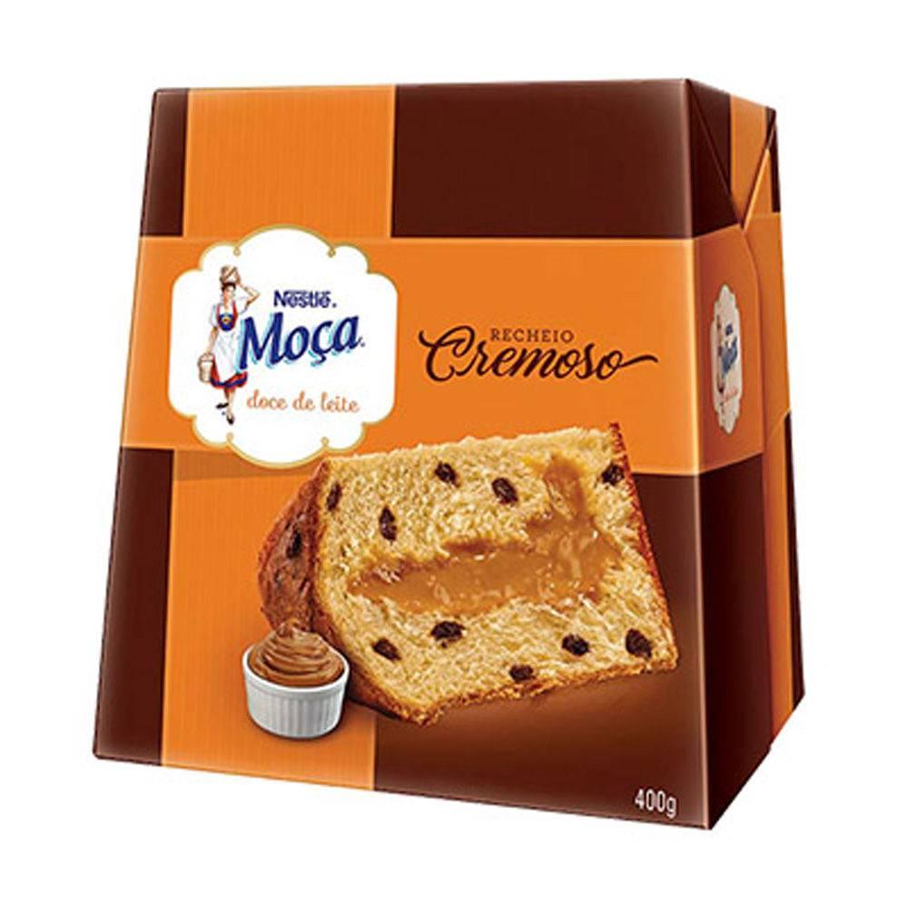 Panettone Recheio Doce De Leite Moça 400g - Nestlé