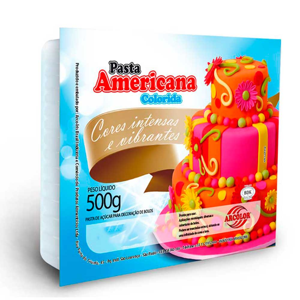 Pasta Americana Marfim 500g - Arcolor