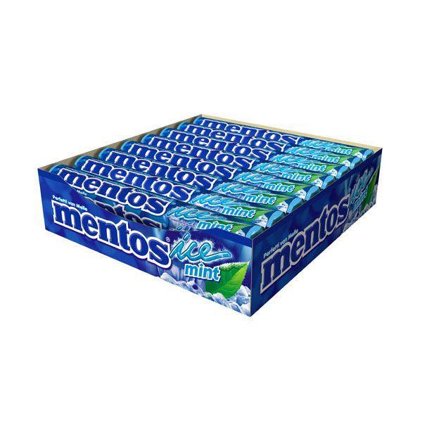 Pastilha Mentos Stick Ice Mint 38g C/16 - Perfetti