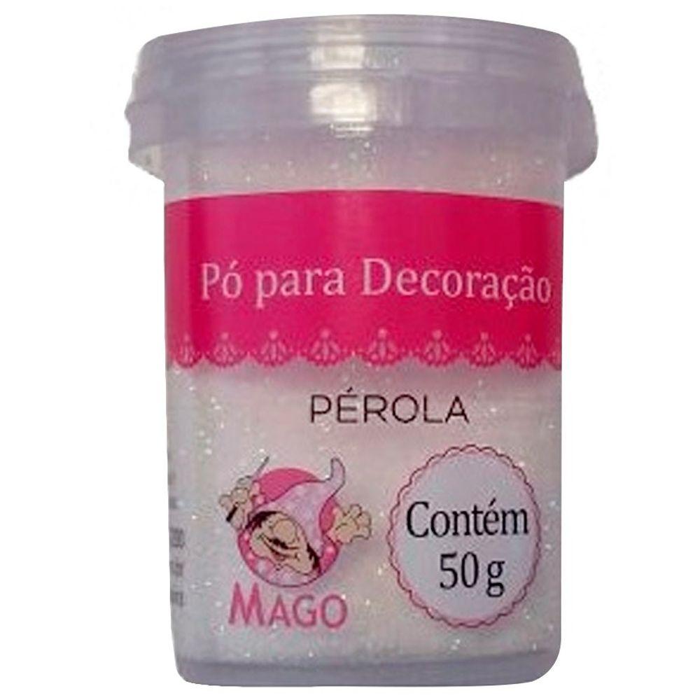 Pó para decoração Pérola 50g - Mago