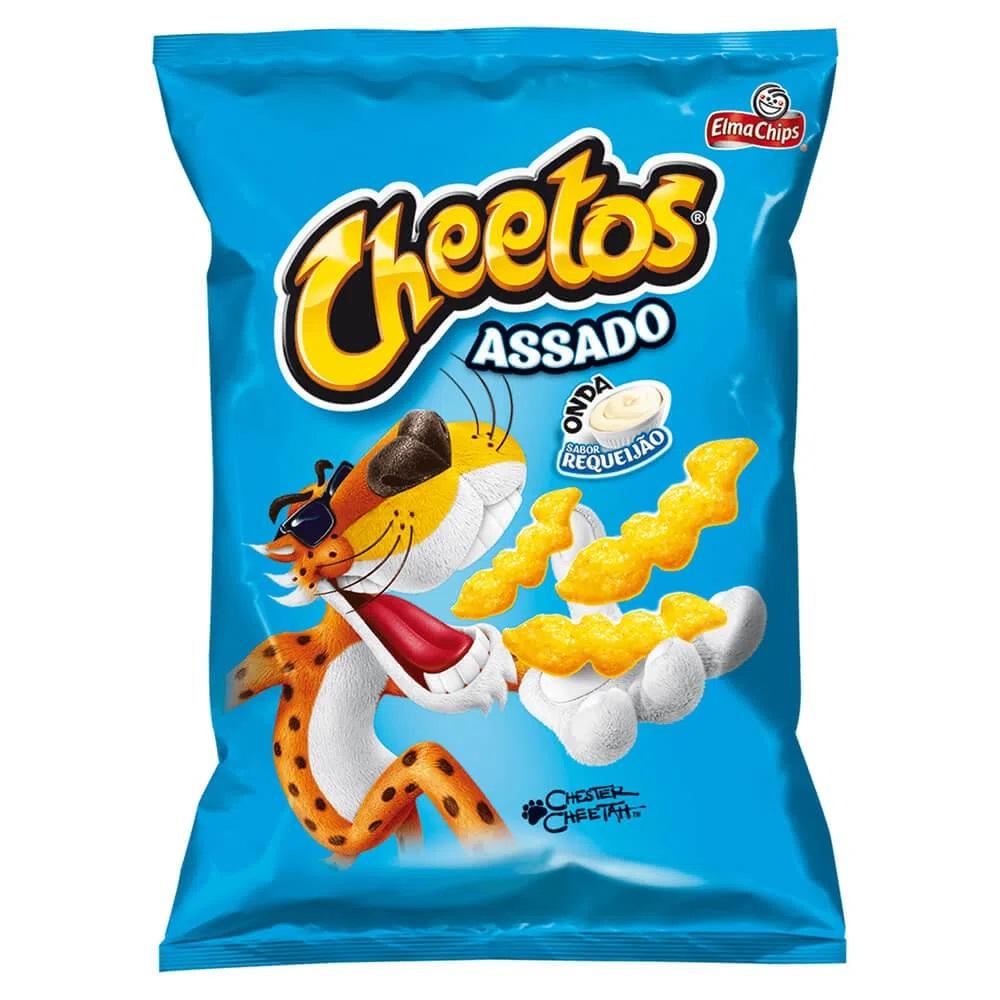 Salgadinho Cheetos Requeijão 37g - Elma Chips
