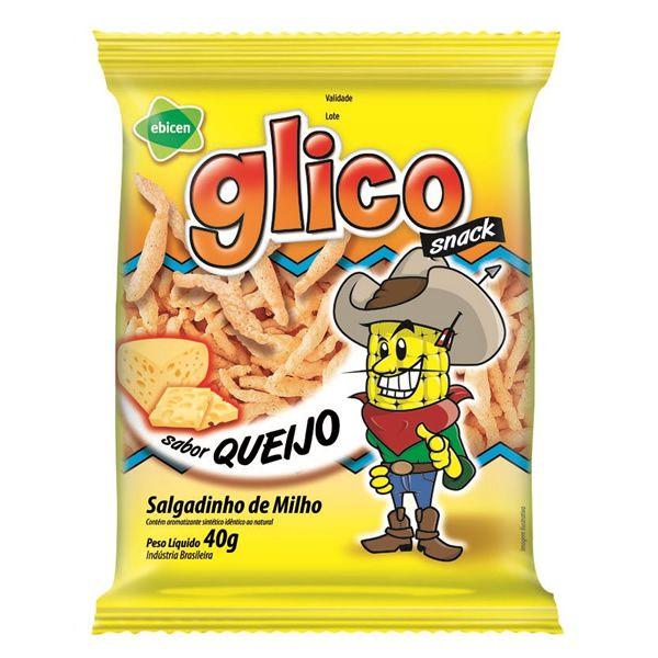 Salgadinho Snack Glico Assado Queijo 40g - Ebicen