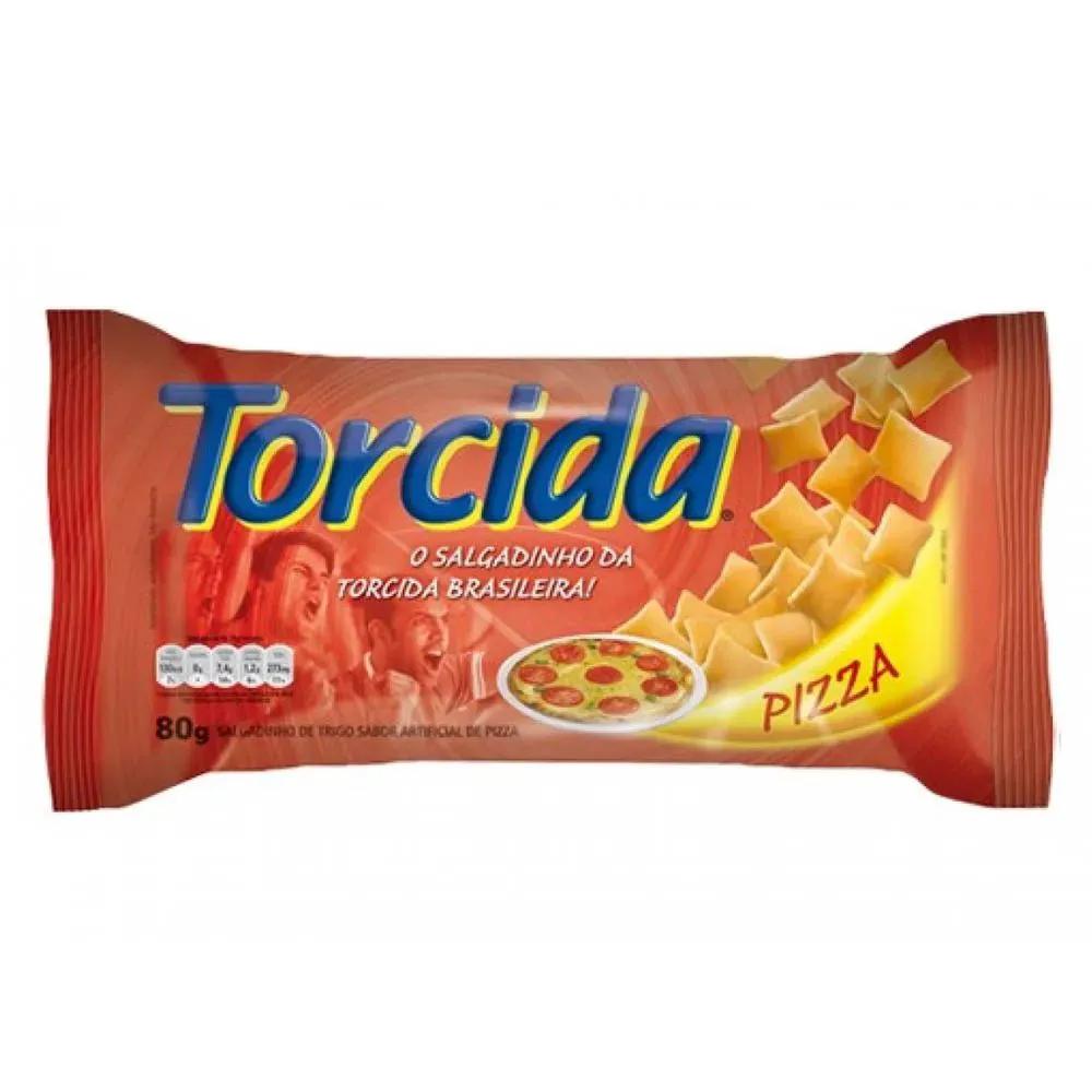 Salgadinho Torcida Pizza 80g - Lucky