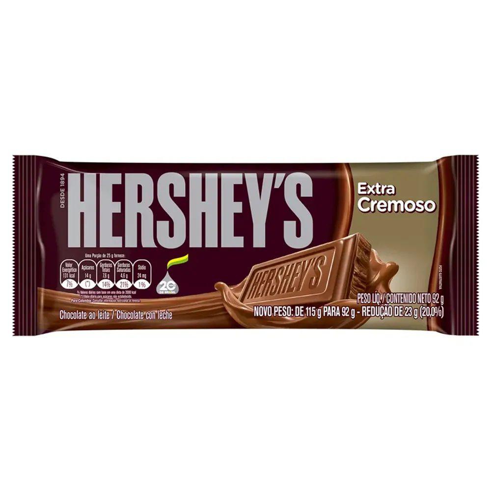Tablete Chocolate Extra Cremoso 92g - Hersheys