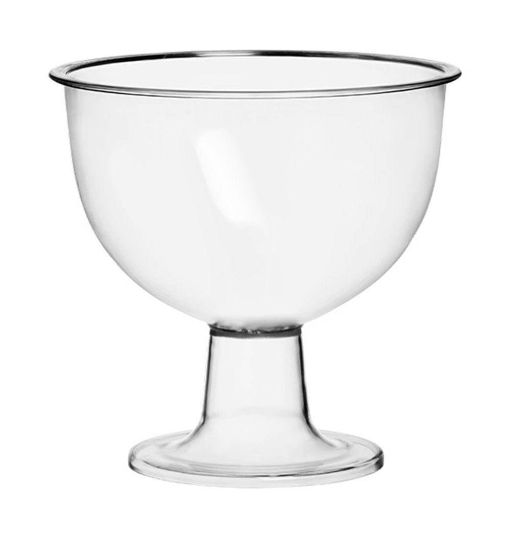 Taça Americana Acrílico Cristal 1,4L - Três Triângulos
