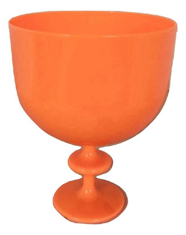 Taça Americana Neon Laranja Acrílico 1,25L  - LSC Toy