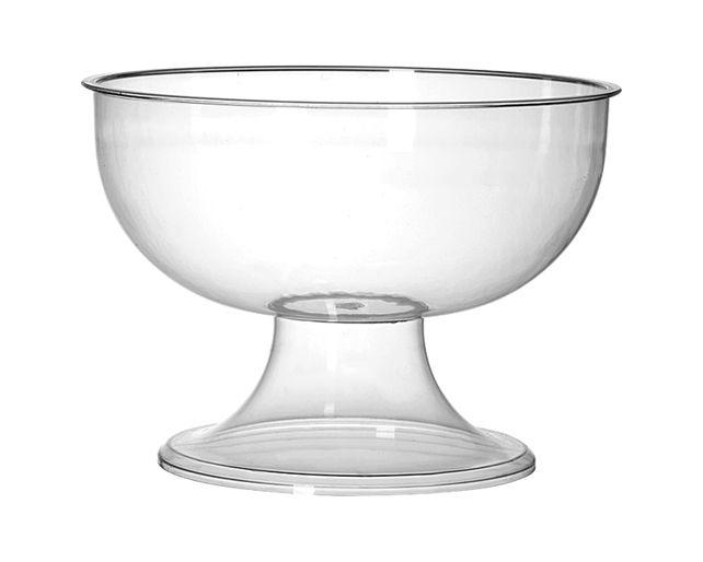 Taça Gigante Acrílico Cristal 5L - Três Triângulos