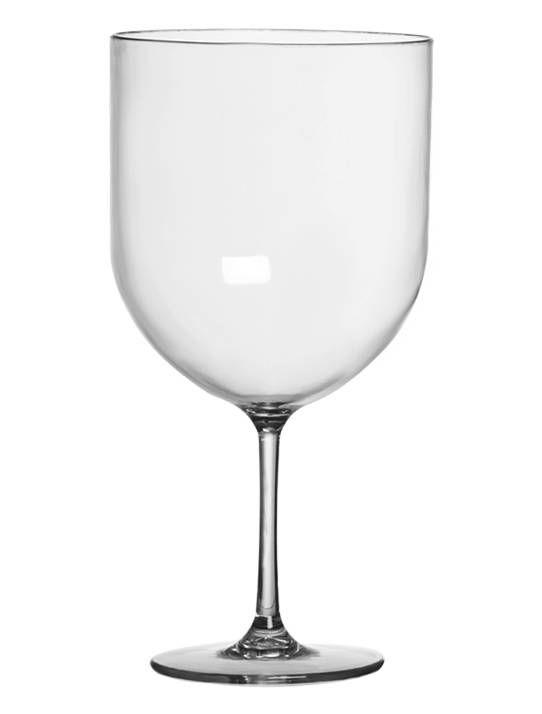 Taça Gin Acrílico Cristal 600ml - Três Triângulos