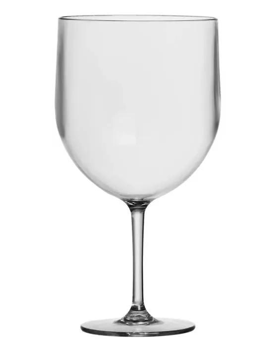 Taça Gin Acrílico Cristal 620ml - Três Triângulos