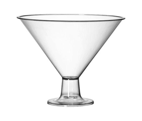 Taça Martine Acrílico Cristal 2,4L - Três Triângulos
