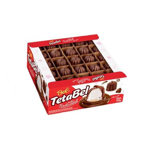 Tetabel Teta De Nega Chocolate Ao Leite C/50un