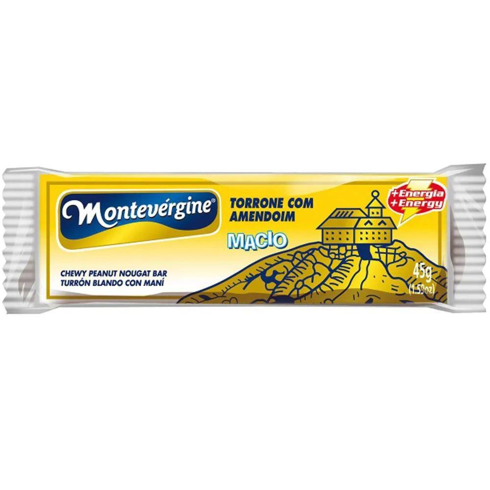 Torrone Com Amendoim 45g C/12un - Montevérgine