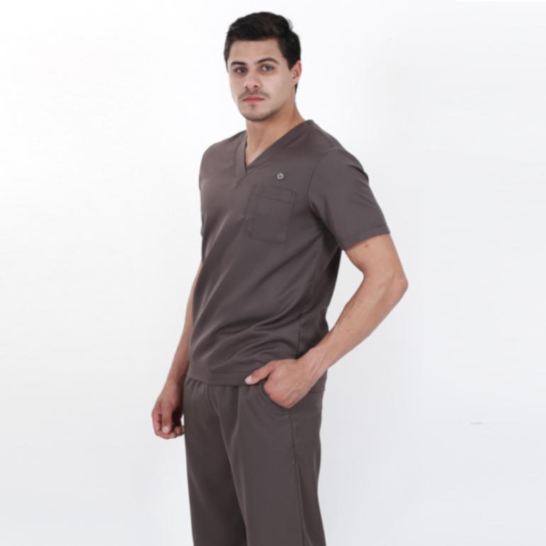 d3f0085f90961 Scrub Masculino Pijama Cirurgico Chumbo - Dana - 70-14 - LETTMANN ...