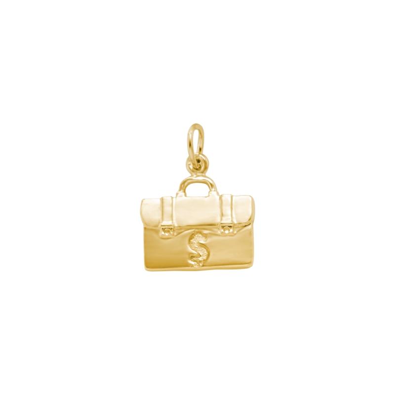 Pingente Berloque de Formatura Ouro Amarelo (Administração)