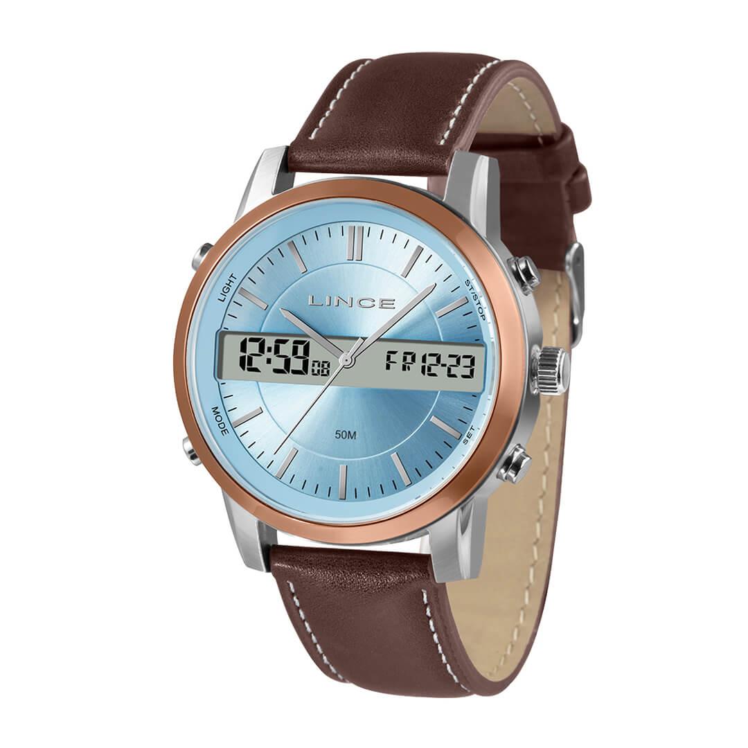 Relógio Lince Masculino Anadigi