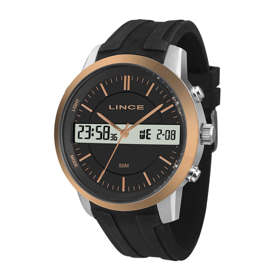 Relógio Lince Masculino Anadigi MAP4491S