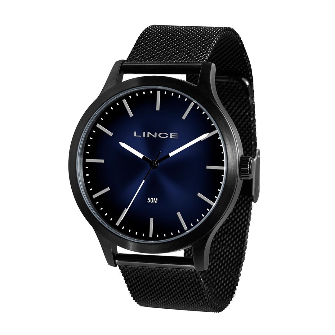 Relógio Lince Masculino Preto MRN4602S