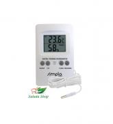Termo-Higrômetro Simpla Com Sensor Externo - TH01