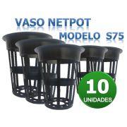 VASO NETPOT S75 - 10 UNIDADES