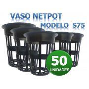 VASO NETPOT S75 - 50 UN