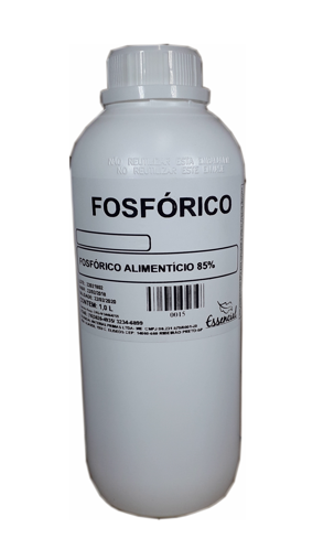 Ácido Fosfórico 85% - Grau Alimenticio 1 Litro