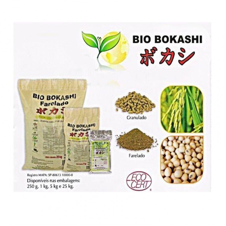 Adubo Orgânico Bio Bokashi Farelado 5 KG