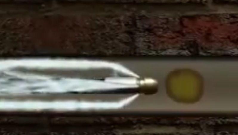 Bico Lava Tubo em Latão com União 5/16