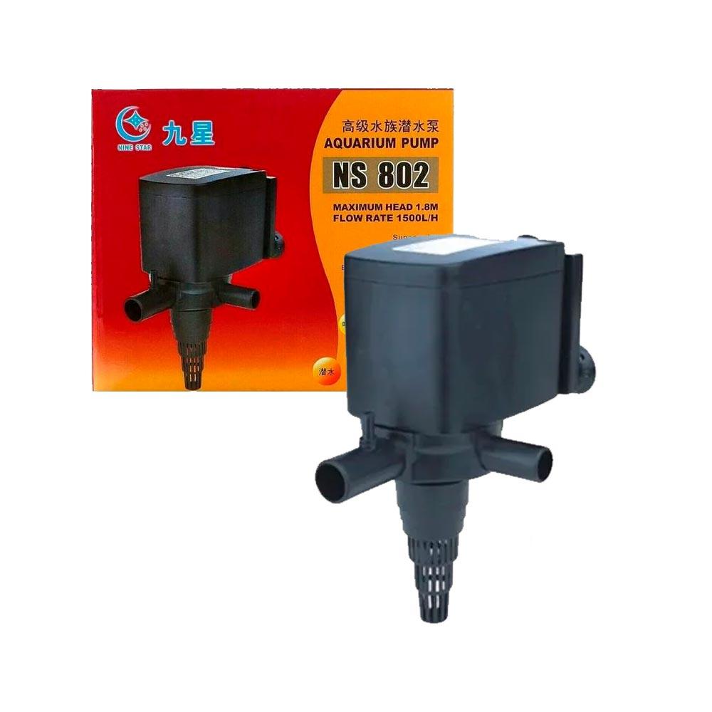 BOMBA SUBMERSA NS 802 - 1.500L/H - MINJIANG 220V