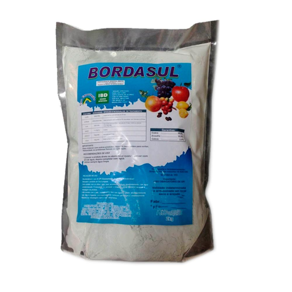 Calda Bordalesa Pronta BORDASUL 2 KG