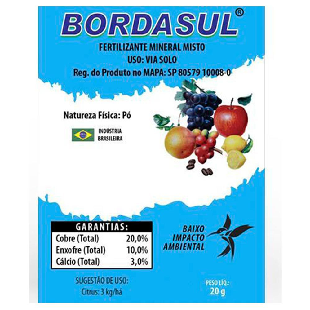 CALDA BORDALESA PRONTA BORDASUL SACHÊ 20 g