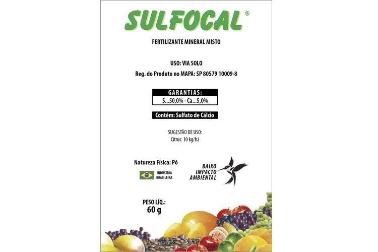 Calda Sulfocálcica Pronta SULFOCAL Sachê 60 gr